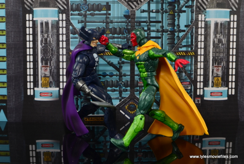 Marvel Legends Vision figure review - vs Grim Reaper