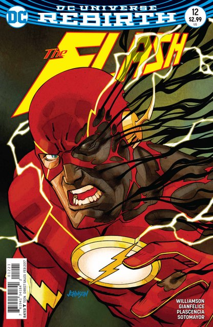 The Flash #12 cover