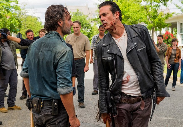The Walking Dead Hearts Still Beating review - Rick and Negan