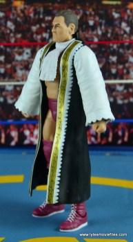 WWE Elite 45 Steve Regal figure review - with robe left side