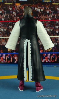 WWE Elite 45 Steve Regal figure review - with robe rear