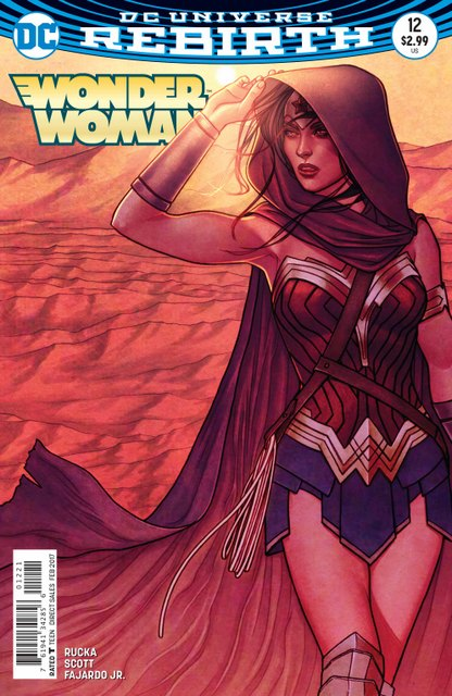 Wonder Woman #12 cover