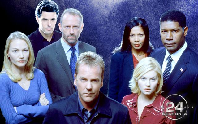 24 season 2 - main cast