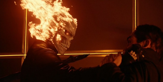 Agents of SHIELD The Laws of Inferno Dynamics - Ghost Rider and Eli