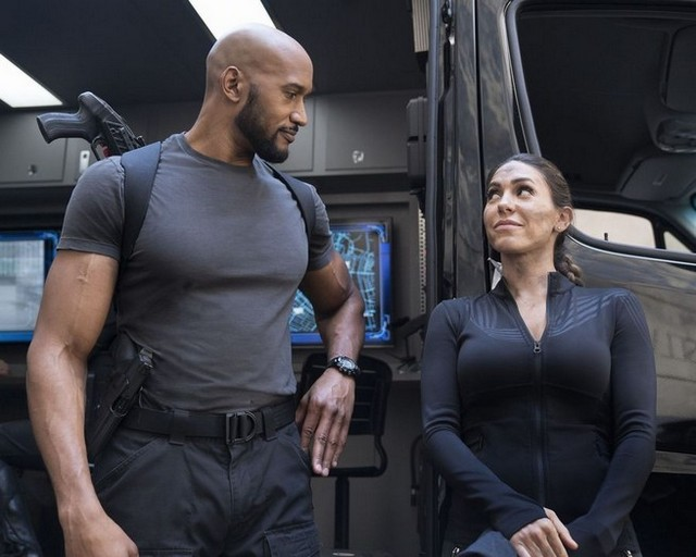 Agents of SHIELD The Laws of Inferno Dynamics - Mack and Yo-Yo