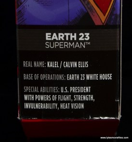 DC Multiverse Elite-23 Superman figure review - bio