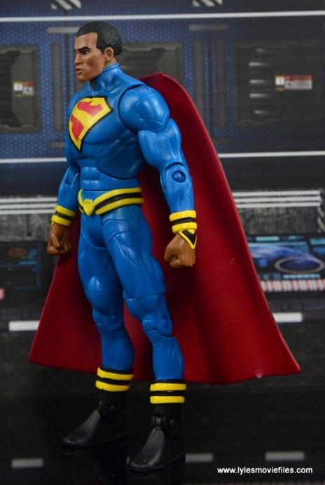 DC Multiverse Elite-23 Superman figure review - left side