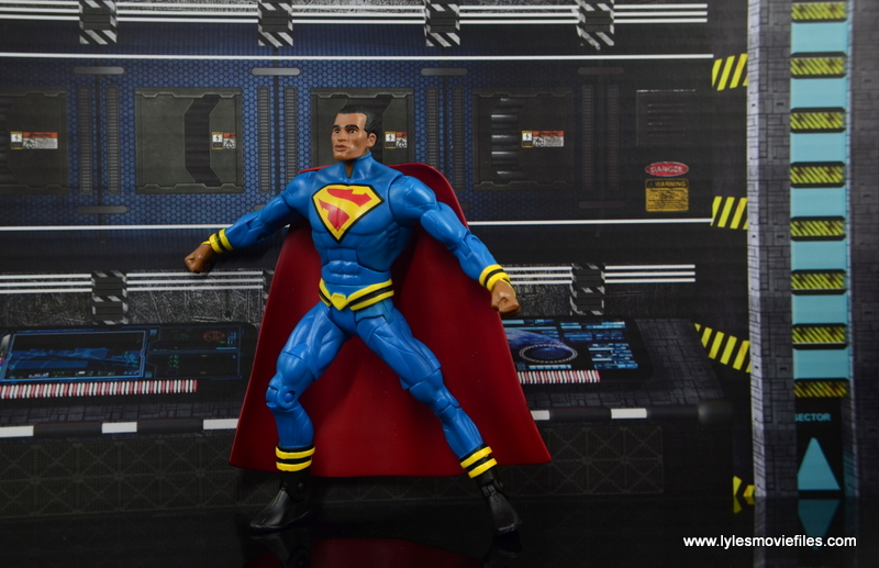 DC Multiverse Elite-23 Superman figure review - preparing to fly
