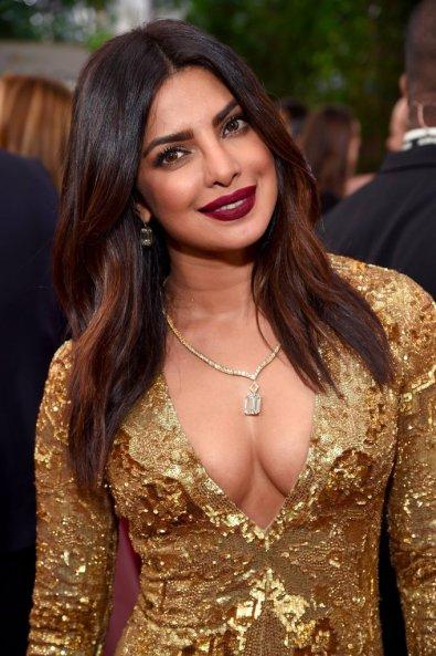 Golden Globes 2017 Priyanka Chopra