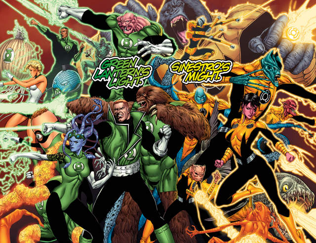 Hal Jordan and the Green Lantern Corps #12 interior art