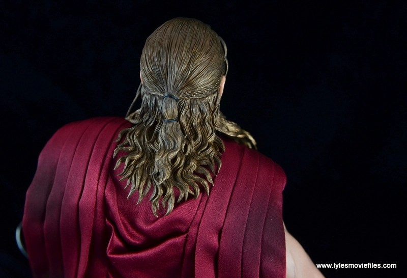 Hot Toys Thor figure review Avengers Age of Ultron -hair sculpt