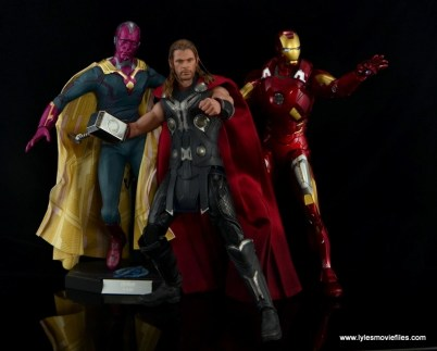 Hot Toys Thor figure review Avengers Age of Ultron -with Vision and Iron Man
