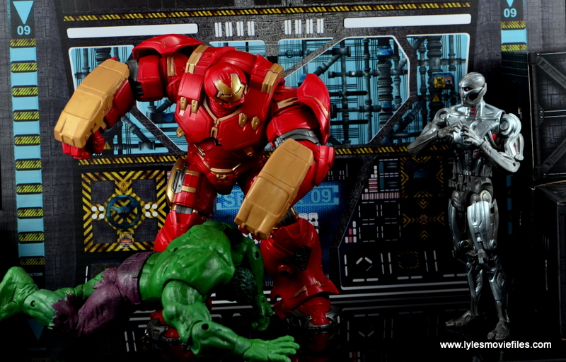 Marvel Legends Hulkbuster Iron Man figure review - learning Ultron is the real enemy