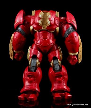 Marvel Legends Hulkbuster Iron Man figure review - rear