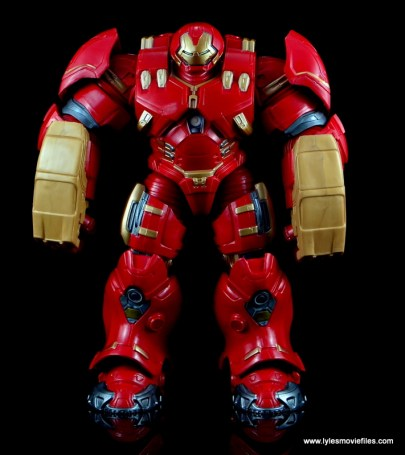 Marvel Legends Hulkbuster Iron Man figure review - straight