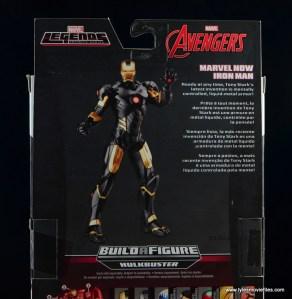 Marvel Legends Marvel Now Iron Man figure review - bio