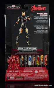 Marvel Legends Marvel Now Iron Man figure review - package rear