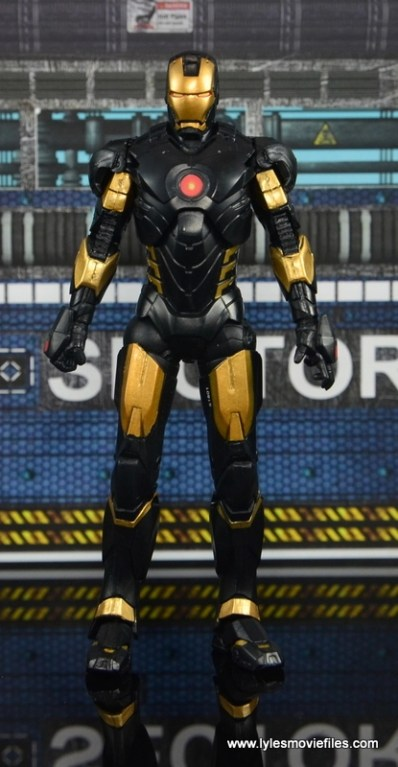 Marvel Legends Marvel Now Iron Man figure review - straight