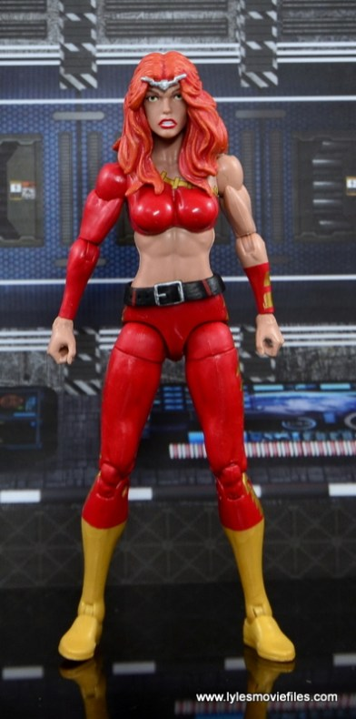 Marvel Legends Thundra figure review - straight