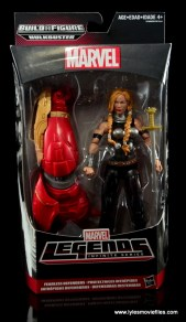 Marvel Legends Valkyrie figure review - front package