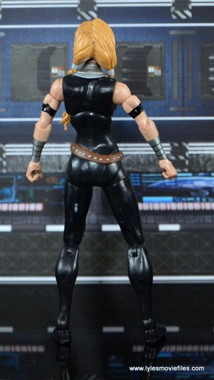 Marvel Legends Valkyrie figure review - rear