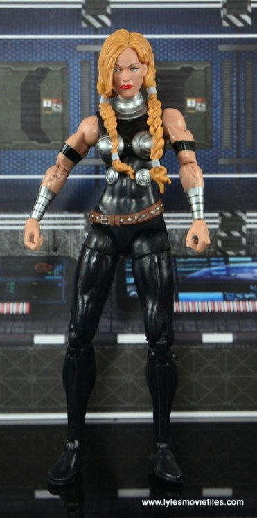Marvel Legends Valkyrie figure review - straight