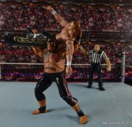 WWE Elite 40 Umaga figure review - Samoan Drop to Shawn Michaels