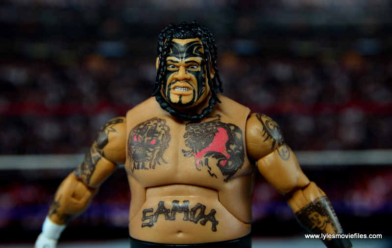 WWE Elite 40 Umaga figure review - main pic