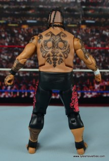 WWE Elite 40 Umaga figure review - rear