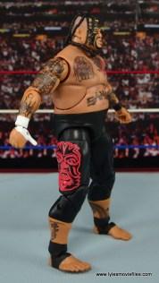 WWE Elite 40 Umaga figure review - right side