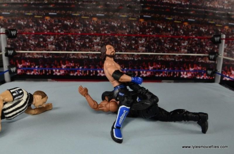 WWE Elite AJ Styles figure review - Calf Crusher
