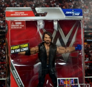 WWE Elite AJ Styles figure review - package changes