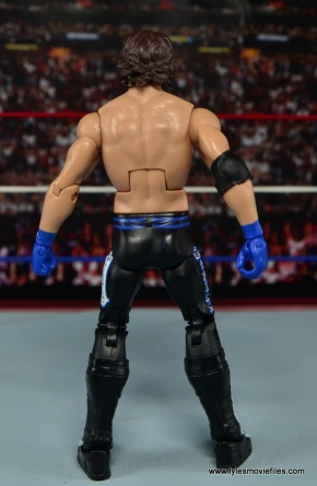 WWE Elite AJ Styles figure review - rear