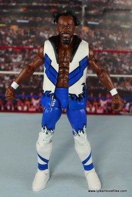 WWE Elite New Day figure review - Kofi Kingston straight
