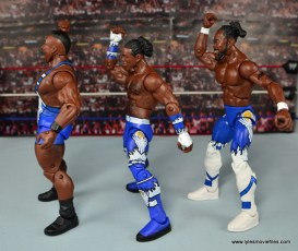 WWE Elite New Day figure review - New Day left side