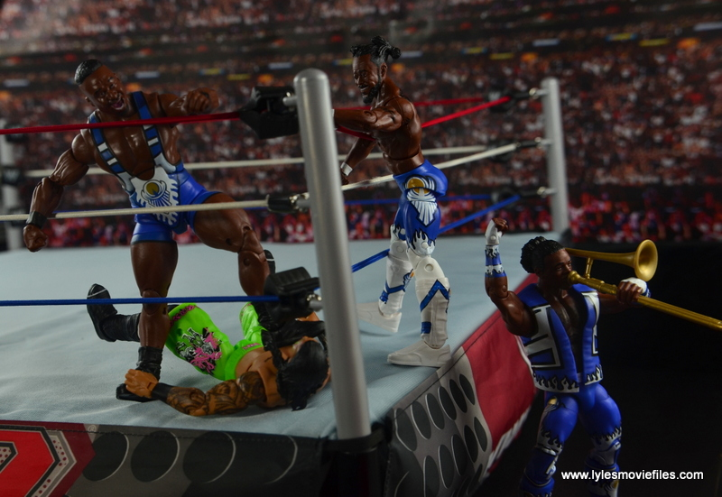WWE Elite New Day figure review - Unicorn Stomp