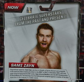 WWE Elite Sami Zayn figure review - bio