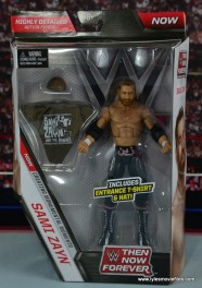 WWE Elite Sami Zayn figure review - front package