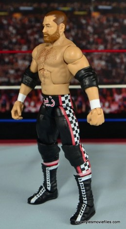 WWE Elite Sami Zayn figure review - left side