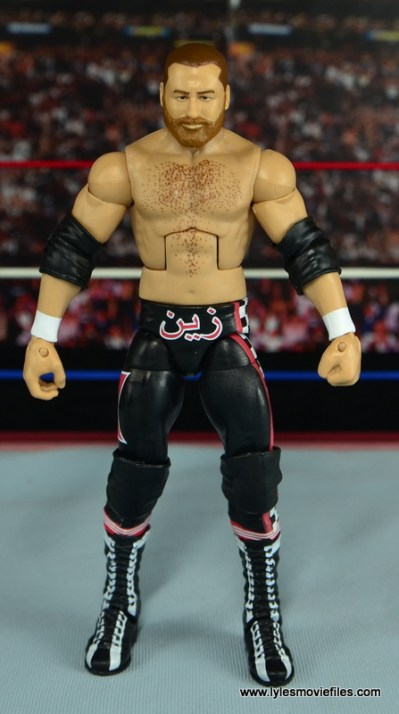 WWE Elite Sami Zayn figure review - straight