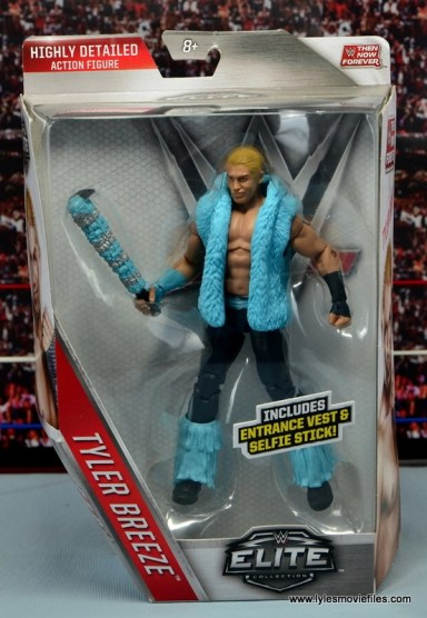 WWE Elite Tyler Breeze figure review - front package