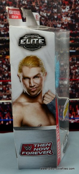 WWE Elite Tyler Breeze figure review - package side