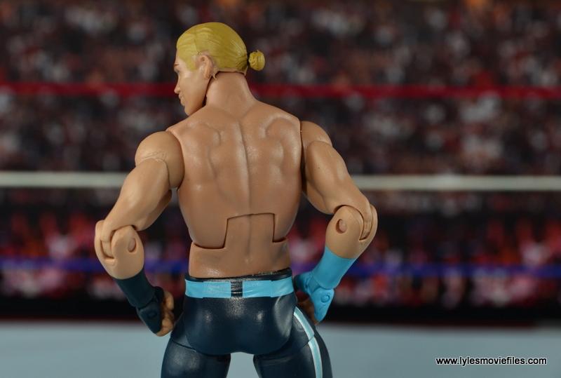 WWE Elite Tyler Breeze figure review -ponytail