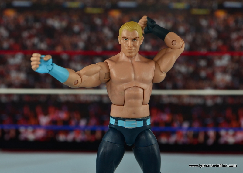 WWE Elite Tyler Breeze figure review - striking a pose