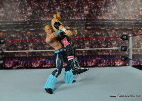 WWE Elite Tyler Breeze figure review - suplexing Sami Zayn