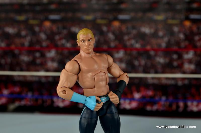 WWE Elite Tyler Breeze figure review - wide shot