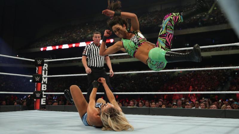 WWE Royal Rumble 2017 - Bayley vs Charlotte Flair