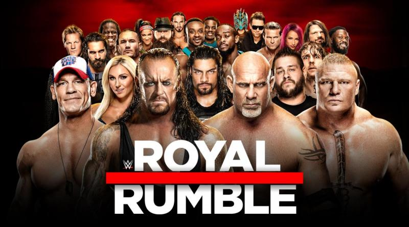 WWE Royal Rumble 2017 - Royal Rumble poster