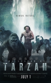 legend of tarzan movie poster