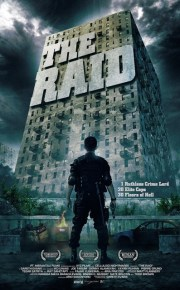 the raid movie poster